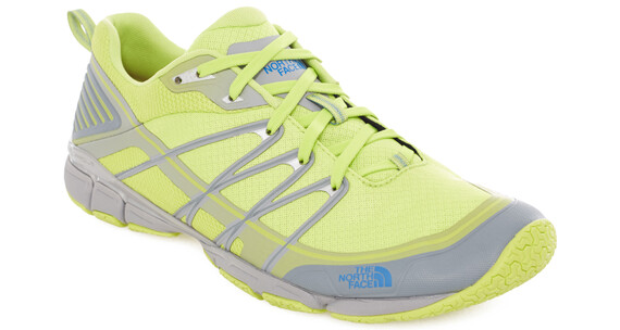 The North Face Litewave Ampere hikingschoenen Heren geel/grijs